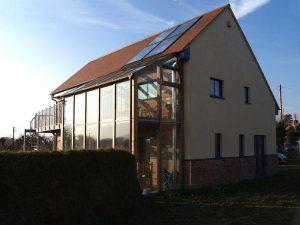 Maison autonome en énergie